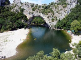 kayak ardeche nature